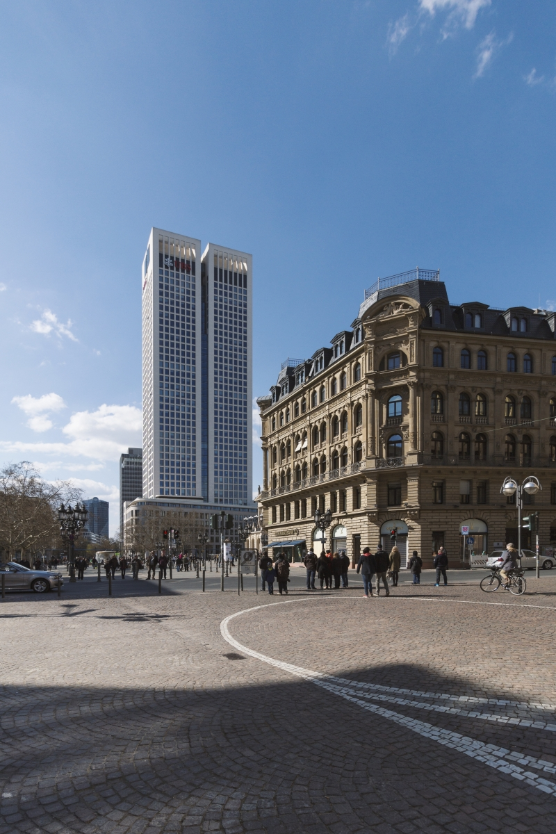 Opernturm + Commerzbank