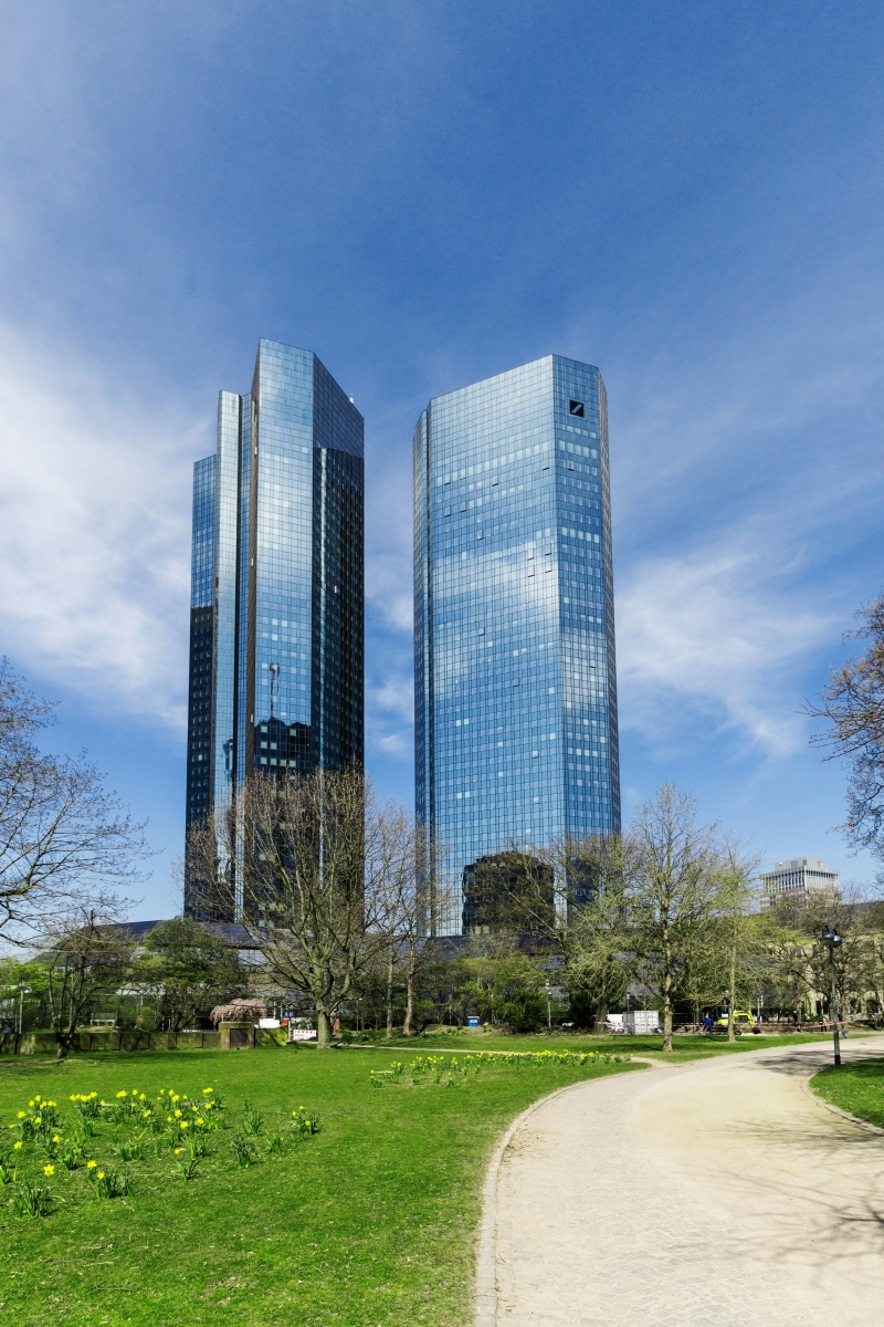 Deutsch Bank Hochaus