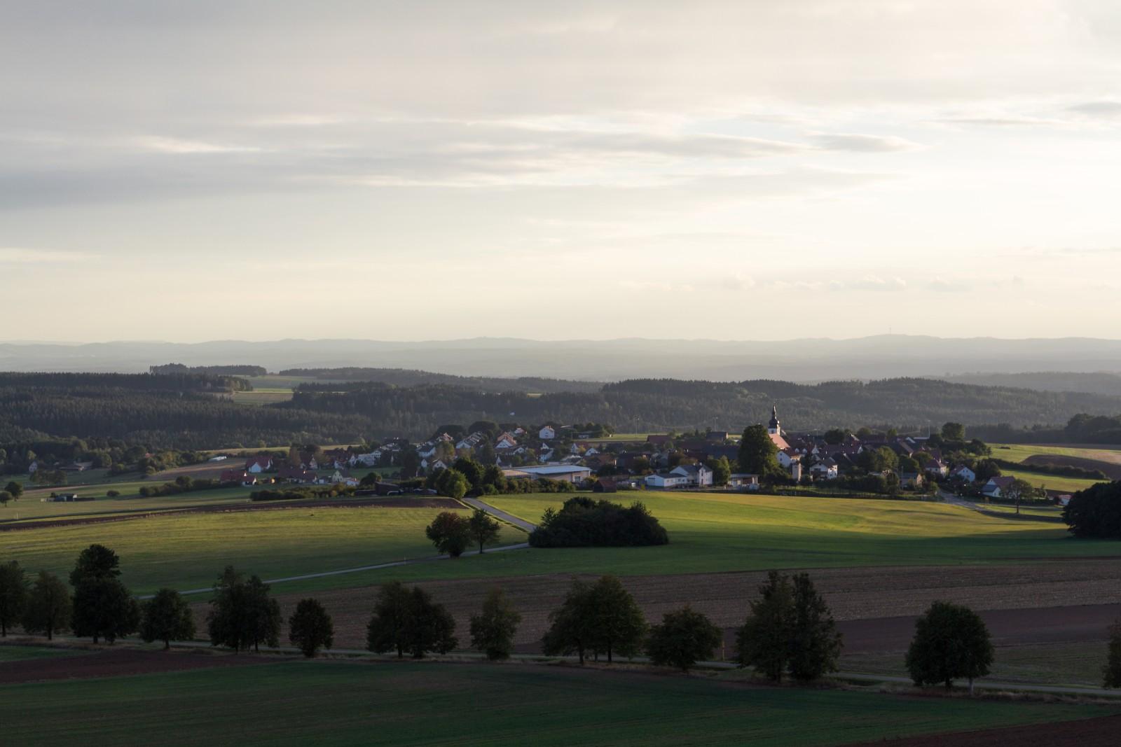 Aussicht Thurndorf
