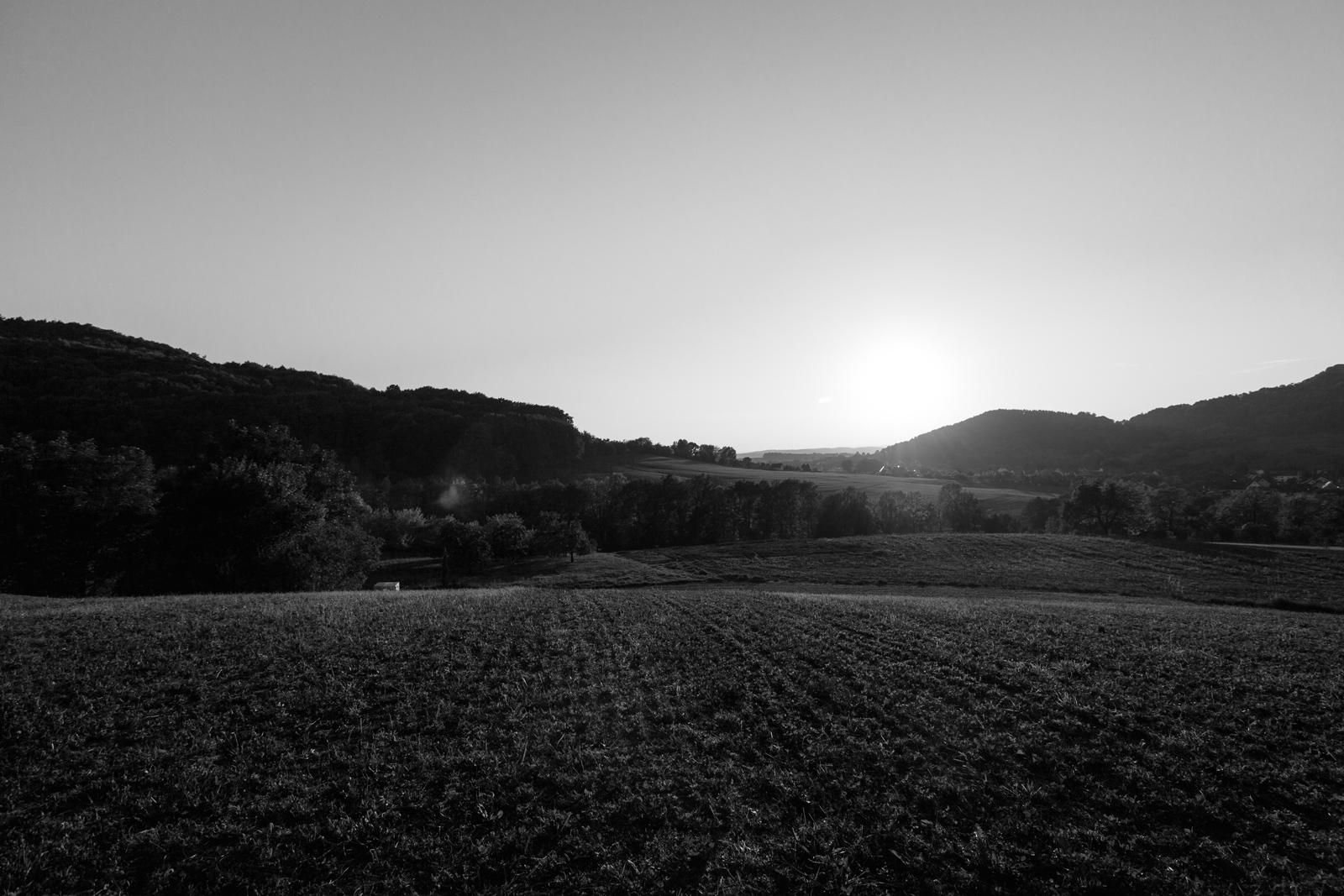 Sonne über Leutenbach